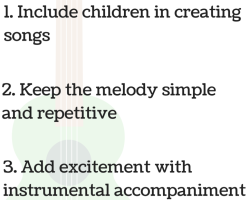 3 Key Considerations To Guide Children's Actions With Songs!