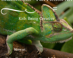 Creativity, Chameleons, and Fan Fiction Art!