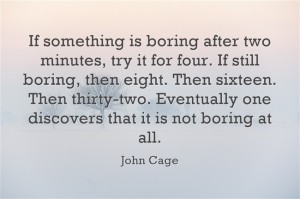 Opening ears and minds with John Cage!