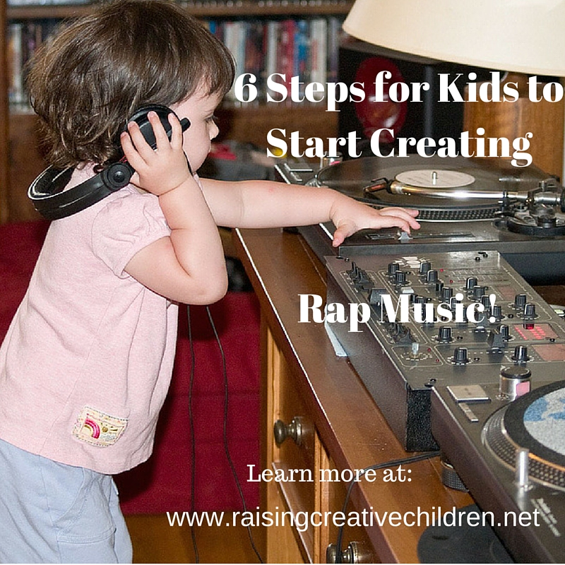 6 Steps for Kids to Start Creating Rap Music!